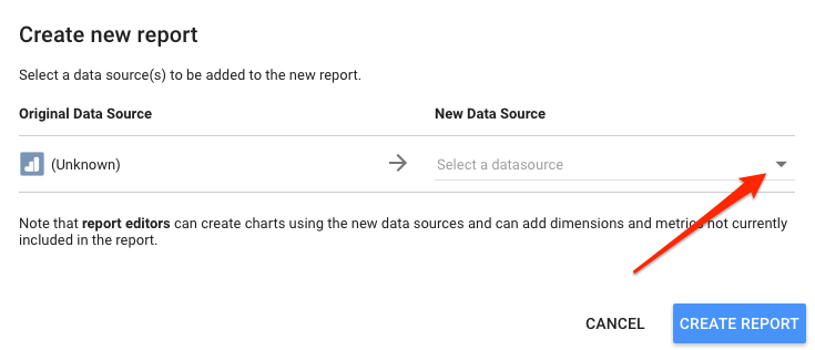 Connect Google Analytics to Google Data Studio