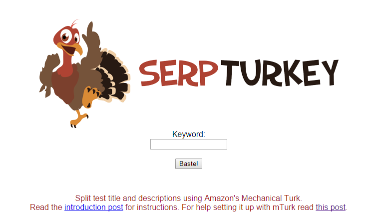 SERP Turkey Snippet Optimization