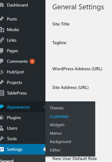 How to Remove Powered by WordPress Footer Credit - theme route